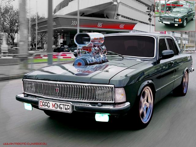 ремонт автомобилей ВОЛГА-